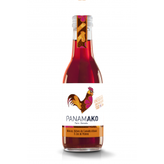 Jus Pomme Hibiscus Cannelle bio - Panamako 25 cl