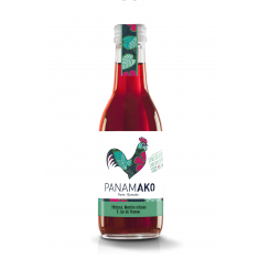 Jus Pomme Hibiscus Menthe bio - Panamako 25 cl