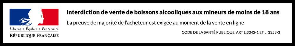 avertissement majorité alcool